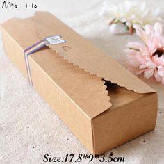 39€ 50 pices - Livraison gratuite nouvelle vente en carton boîte Caixa Macaron emballage Kraft boîtes de papier gâteau de bijoux cadeau 50 set/lote 17.8 * 9 * 3.5 cm dans Boîtes d'emballage de Industrie & affaires sur AliExpress.com | Alibaba Group