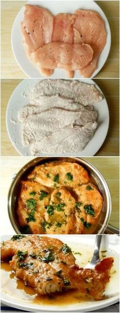 Frango ao molho de limão, uma receita simples, que não leva muitos ingredientes, e muito gostosa e rapida de fazer !#frango #receitasdefrango A Food, Good Food, Food And Drink, Yummy Food, Salty Foods, Cooking Recipes, Healthy Recipes, Portuguese Recipes, Food Inspiration