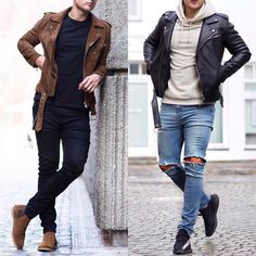 Left or right? Follow @mensfashion_guide for more! By @wowa_valentino #mensfashion_guide #mensguides