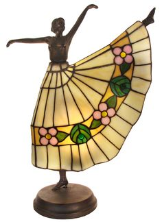 Tiffany Lamp Product | Tiffany Dancer Lamp: Beth's Giftware & Lamps