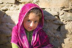Girl from Northern Pakistan.