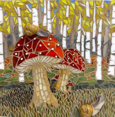 Original Mosaic Art and Home Decor by MosaicArtPlace Mosaic Pots, Mosaic Diy, Mosaic Garden, Mosaic Crafts, Mosaic Projects, Mosaic Wall, Mosaic Glass, Mosaic Tiles, Mosaic Bathroom