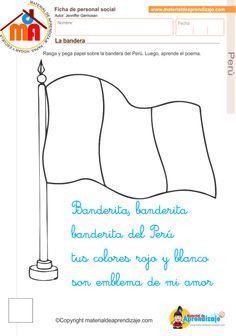la bandera del Perú