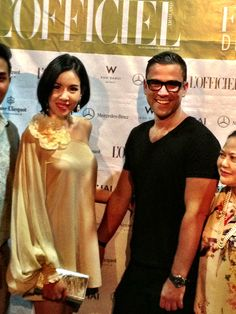 Rubin Singer and former Ms Thailand 2009, last night at the openning coktail of l'Officiel VIP Fashion Weeked at W Retreat Koh Samui, featuring International Fashion Designer Rubin Singer. More photos to be uploaded at www.rubinsinger.wordpress.com