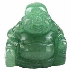 Hand Carved Happy Buddha Statue