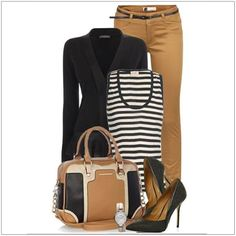 Work Wear Wardrobe Essentials should you own- Work-Wear Kleiderschrank Essentials sollten Sie besitzen Work Wear Wardrobe Essentials should you own - Neue Outfits, Office Outfits, Fall Outfits, Casual Outfits, Work Outfits, Outfit Work, Brown Pants Outfit For Work, Office Wear, Casual Shoes