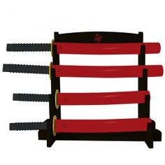 Samurai Küchenmesser Set mit Messerblock   Schnelle Lieferung