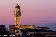 Palazzo Vecchio al crepuscolo