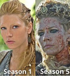 The change of Lagertha Viking Shop, Viking Life, Viking Warrior, Viking Shield, Warrior Women, Ragnar Lothbrook, King Ragnar, Vikings Tv Series, Vikings Tv Show