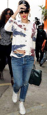 Fashion Reactor: In Rihanna style