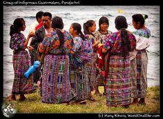 Grupo de indigenas en Panajachel