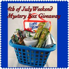 4th of July Weekend Flash MYSTERY BOX GIVEAWAY! ••• WHAT TO DO? ••• ===> Share your plans for the weekend. What foods you're gonna cook and celebrate.  The mystery box will be filled with yummy full- size products and samples from the companies that I love and celebrate myself in the daily living.  Optional for Extra Points: - Tell your buddies about this giveaway and share it with your excitement - Pin it and leave a link to your pin in comment - Tweet about this giveaway and leave a link…
