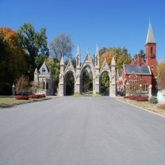 Crown Hill Cemetery In Indianapolis