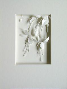 Les sculptures de papier de Cheong-ah Hwang « Nathalie Boutté – Paper art 3d Paper Art, Paper Artwork, Paper Artist, Diy Paper, Paper Crafts, Kirigami, Cut Out Art, Papier Diy, Paperclay