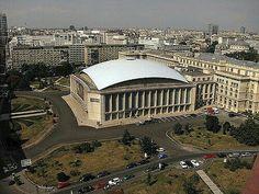 Sala Palatului Bucharest Romania, Louvre, Clouds, Memories, Architecture, Building, Travel, Romania, Memoirs