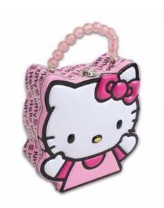 Hello Kitty Shaped Tin