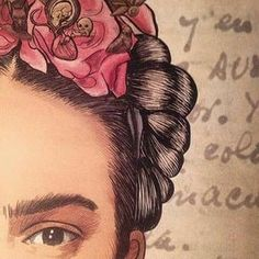 Image about love in Frida Kahlo by susie ♡ on We Heart It Diego Rivera, Kahlo Paintings, Frida And Diego, Frida Art, Mexican Art, Famous Artists, Zentangle, Folk Art, Painting & Drawing