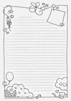 Free note paper to print . - Do it yourself - # express # . - Free note paper to print … – Do it yourself – - Printable Paper, Stationary Printable, Note Paper, Writing Paper, Planner Pages, Bullet Journal Inspiration, Journal Pages, Free Printables, Coloring Pages