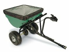 Precision Products 100-Pound Capacity Tow-Behind Semi-Commercial Broadcast Spreader TBS4500PRCGY by Precision Products. $97.19. Trails behind mowers, trailers for quick spreading. 100-pound capacity tow-behind semi-commercial broadcast spreader; 10- to 12-foot spread pattern. Fingertip cable control for easy adjustments. Steel tube frame and heavy-duty plastic hopper. 90-day limited warranty; includes rain cover; assembly required. Amazon.com                The Precision Products...