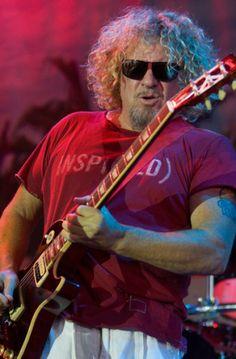 Sammy Hagar (Vocal) (Guitar) - Van Halen / Chickenfoot / Montrose Van Halen 5150, Red Rocker, Sammy Hagar, Vintage Rock, Best Rock, Les Paul, Classic Rock, Music Stuff, Rock Music