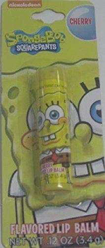Nickelodeon Spongebob Squarepants Cherry Flavored Lip Balm, http://www.amazon.com/dp/B00PLUXOIE/ref=cm_sw_r_pi_awdm_YDsSvb1CBX8H2