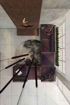 Extraordinary Metal Decorating House By Anton Medvedev. Homes That Use A Concrete  Finish ...