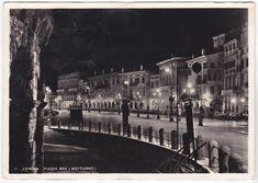 VERONA - PIAZZA BRA - NOTTURNO - VIAGG. 1947 -51703- | Collezionismo, Cartoline, Paesaggistiche italiane | eBay! Verona, New York Skyline, Ebay, Travel, Italy, Fotografia, Viajes, Traveling, Trips