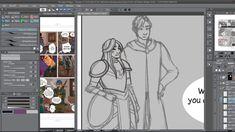 ★ Timelapse Digital Painting - Chapter 13 Page 20 [Tales of Midgard webc. Manga, Studio, Digital, Memes, Videos, Artwork, Painting, Work Of Art, Auguste Rodin Artwork