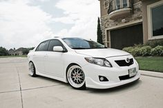 Toyota Corolla XRS on Privat Akzent Wheels - Rides & Styling