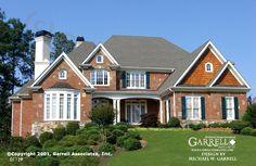 Garrell Associates, Inc.Chamberlin House Plan 01129, European Manor Style House Plans, Design by Michael W. Garrell