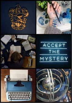 Harry Potter, House, Aesthetic, ~ Ravenclaw Or yet in wise of Ravenclaw If you've a steady mind Where those of wit and learning Will always find their kind