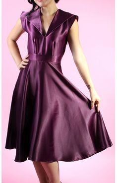 Reese Plum Dress