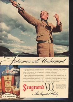 A 1937 Seagram's Whiskey ad.