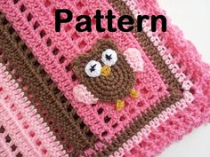 Hey, I found this really awesome Etsy listing at http://www.etsy.com/listing/115124648/pattern-crochet-baby-owl-blanket