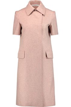 Shop on-sale Victoria Beckham Brushed-wool coat . Browse other discount designer Coats & more on The Most Fashionable Fashion Outlet, THE OUTNET.COM