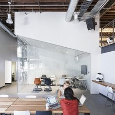 Inside Pinterests New San Francisco Offices #office: office space, office design, office interiors