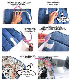 Cómo hacer una colchoneta para silla de paseo 3 DIY