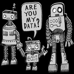 @agbender <3 lol My Data? Robot Kid Canvas Print