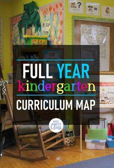 Kindergarten Long-Range Planner FREE