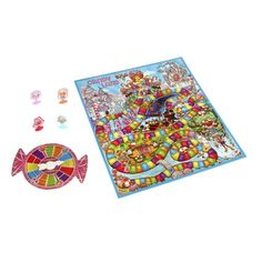 """Start down the """"magical"""" road to """"sweet"""" surprises! This adorable version of the classic Candy Land Game features the fun illustrations that kids . Candyland Board Game, Candyland Games, Thirty One, Monster High, Toys R Us Canada, Classic Candy, Classic Board Games, Fun Illustration, Illustrations"""