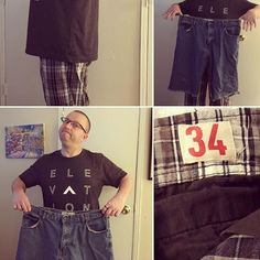 Folks its happened! Im back in a size 34 waist!!!!!! I thought I would never get back to this! So today is the day Im tossing the #HUGE #jorts Lori hates!!!! This is the end of that life forever! And Im back in my favorite expensive size 34 jeans Ive not been able to wear for 5 years!!!! This feels amazing! (Ask Lori if you want to learn how this happened!) #healthy #takingmylifeback #takingmyhealthback #livingwell #weightlossjourney