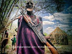 Mursi tribe - Omo Valley Ethiopia travel photos