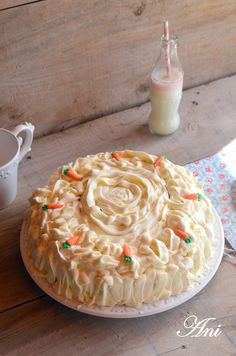 Fue amor a primera vista... desde que la vi supe que era mi tarta y desde que la probé supe que iba a ser mi tarta favorita , la tarta de z...