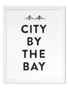 City By the Bay Print | at Amelia  ameliapresents.com