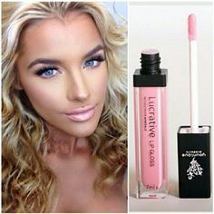"""Tried our lip gloss? Shop our lucrative lip gloss """"Loveable"""" NO STICKINESS! Our colors are as described! Goes on SO smooth! 14 day money back! Click the link in my bio or below and shop!  Www.lavishlashesforyou.com"""