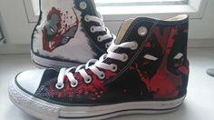 2a5ca04ab9 deadpool shoes fabrics colors via  r Art... Marvel