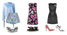 """Love Moschino"" by sharasousa ❤ liked on Polyvore featuring Love Moschino, Moschino, everyday and LoveMoschino"