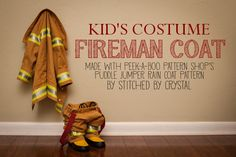 STITCHED by Crystal: Halloween Costumes 2013: Fireman Coat