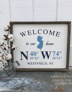 Ar workshop ankeny wine and painting wood sign studio and diy new jersey wood framed sign coordinates gps solutioingenieria Image collections