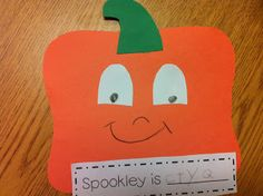 The Adventures of a First Grade Teacher: Pumpkins & Halloween!